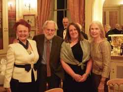 Prue and Sir and Lady David Puttnam
