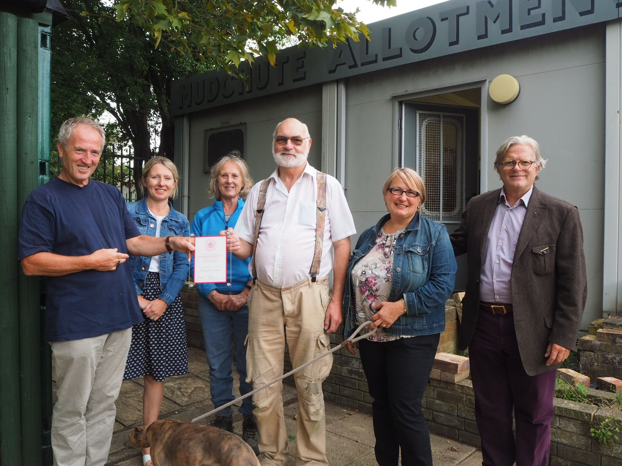 IOD Allotment Soc RWHA Charity Fund Visi
