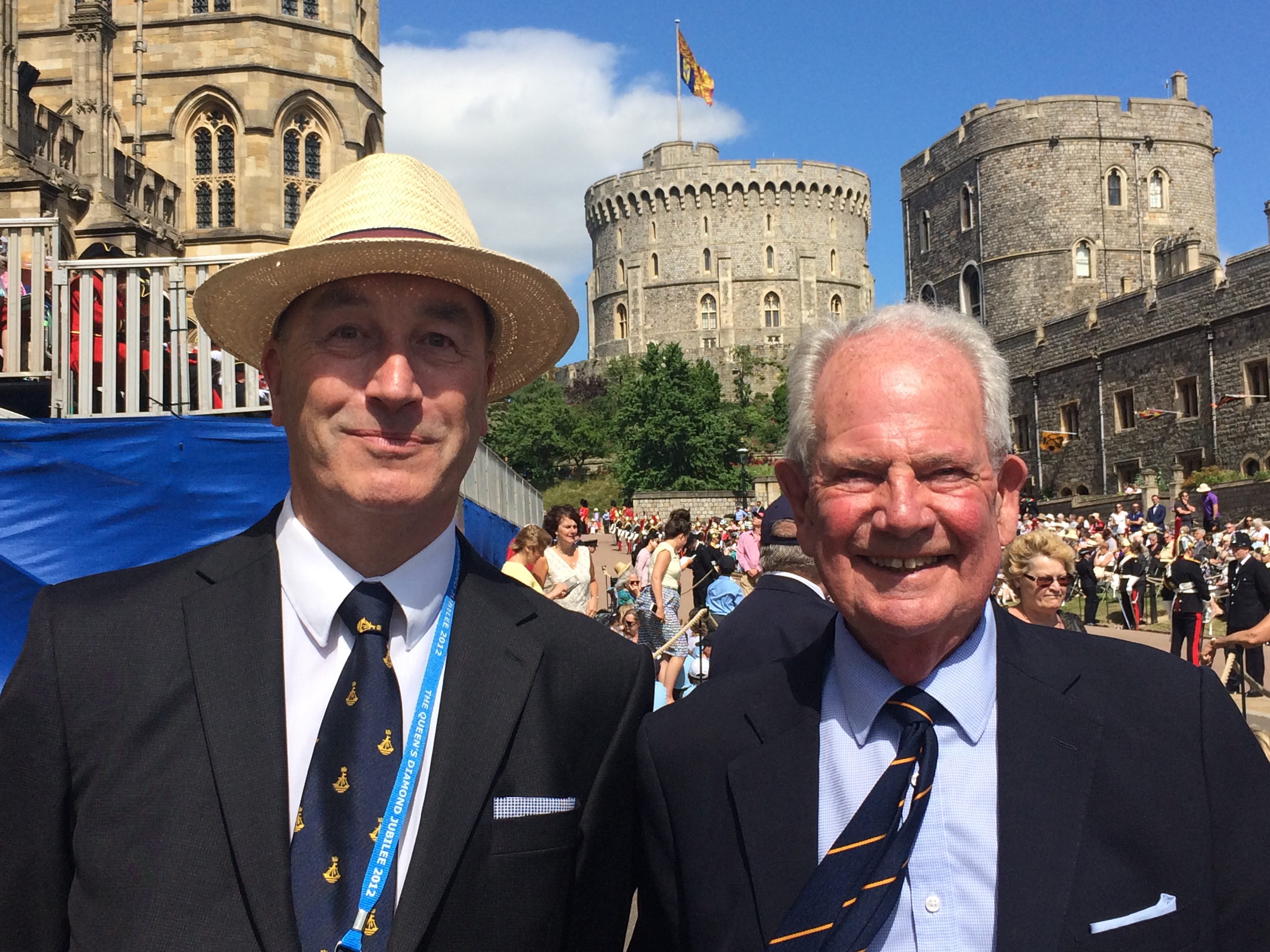 Chris and Douglas Garter Day 2018