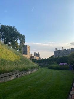 Summer Recep Windsor Castle 2021 Moat Garden