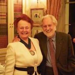 Prue and Sir David Puttnam