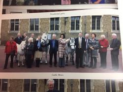 Peter Darville President Castle Mews Windsor Visit