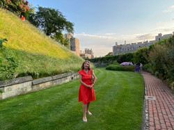 Summer Recep Windsor Castle 2021 Francelle Moat Garden