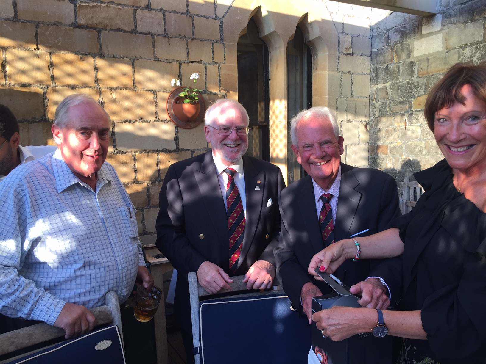 Sir James Perowne Douglas Hill Party Win