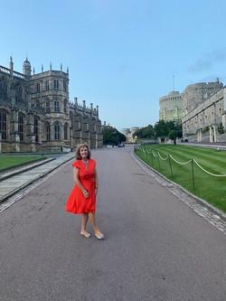 Summer Recep Windsor Castle 2021 President Francelle White