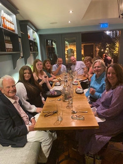 Dinner in Eton at the end of Presidents weekend