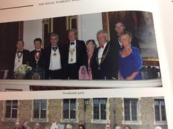 Peter Darville President Castle Mews Windsor Annual Dinner