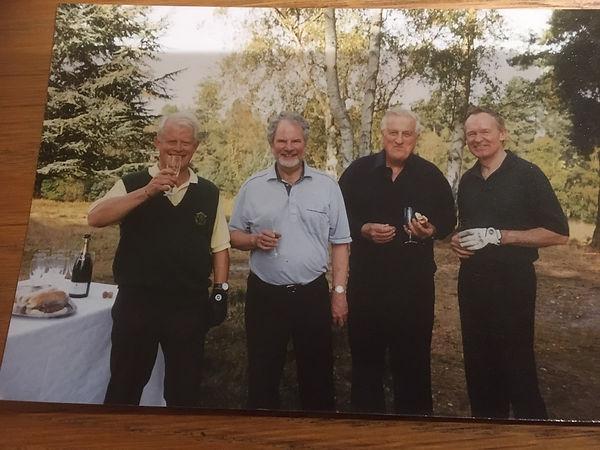Douglas 2002 golf match at the Berkshire