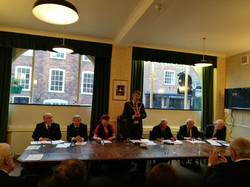 AGM assembles at Eton Town Hall 2018