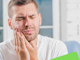 Não espere sentir dor de dente