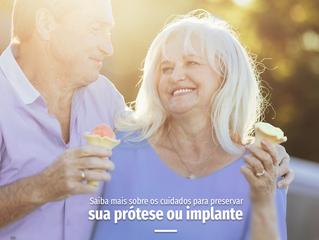 Próteses dentárias: saiba como prolongar a saúde bucal