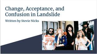 "Mood and Tone - Sarah Gilbertoni investigates ""Landslide"" from Fleetwood Mac"