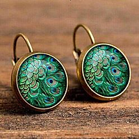 Bohemium green earrings.png