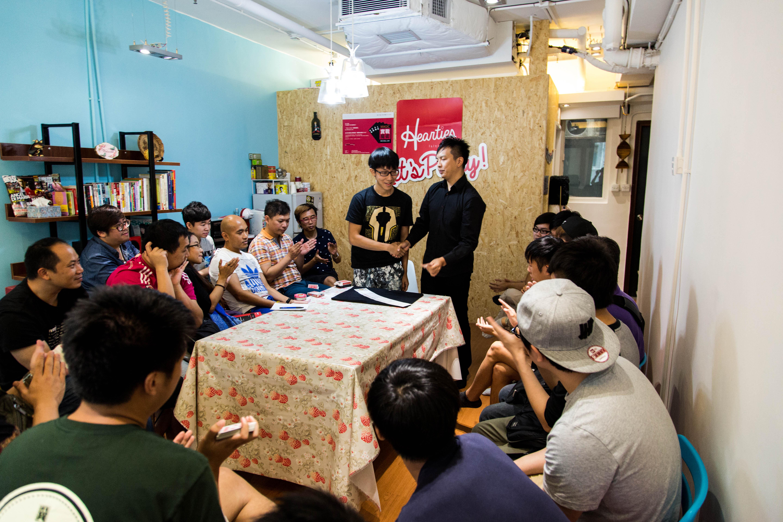 Workshop in HK.