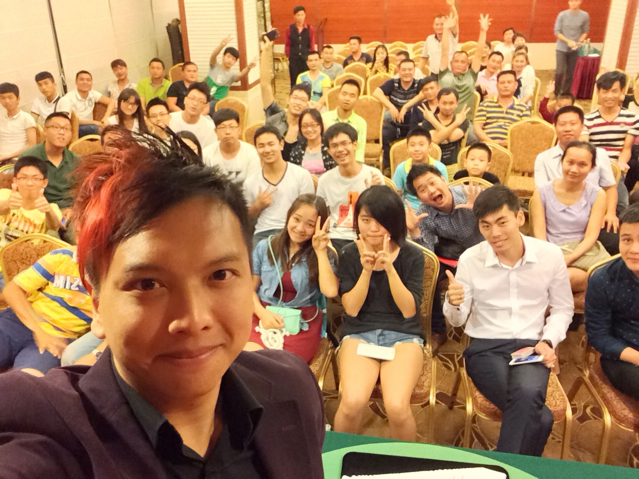 Workshop in China.