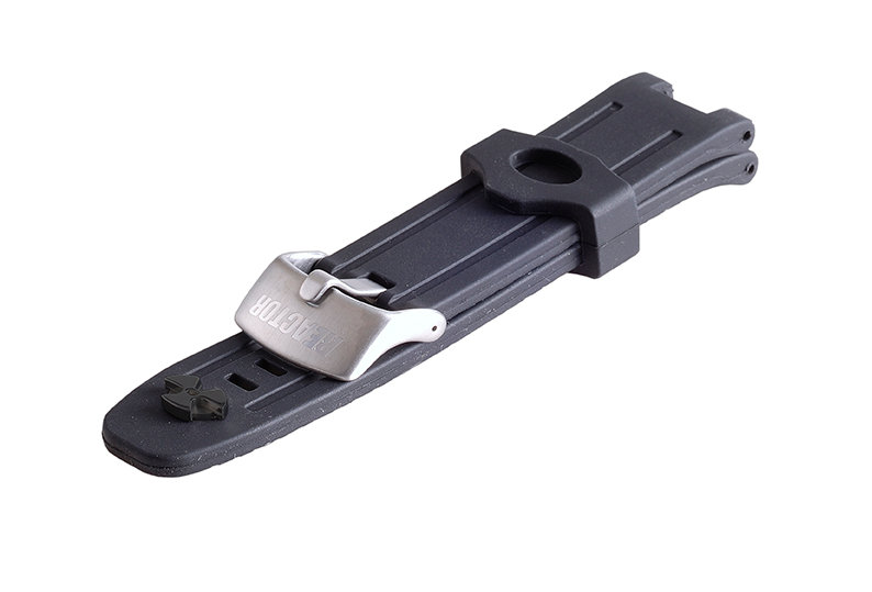 Standard Rubber Strap - Stainless
