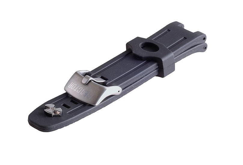 Standard Rubber Strap - Titanium
