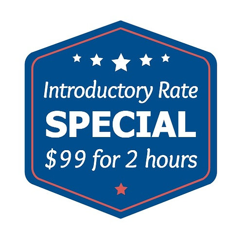 Introductory Special Rate