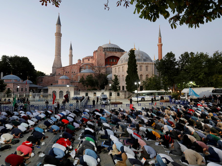 Turkish court paves way to turn Hagia Sophia into a mosque