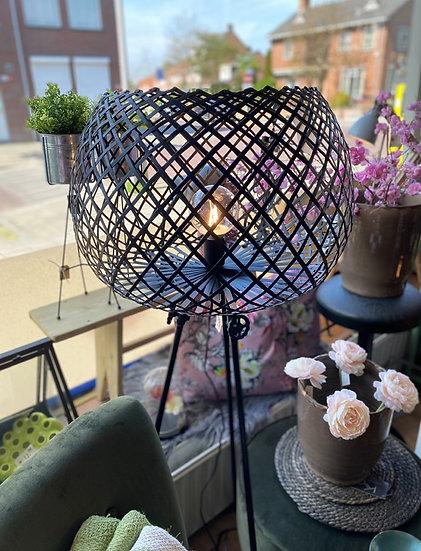 Prachtige staande lamp