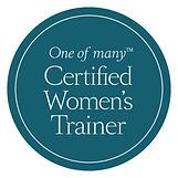 Oneofmany_Roundel_CertifiedWomensTrainer