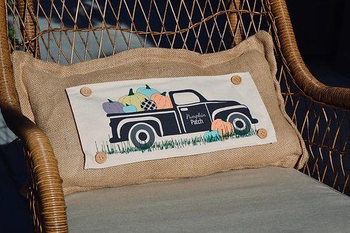 Seasonal Bundle & Burlap Pillow