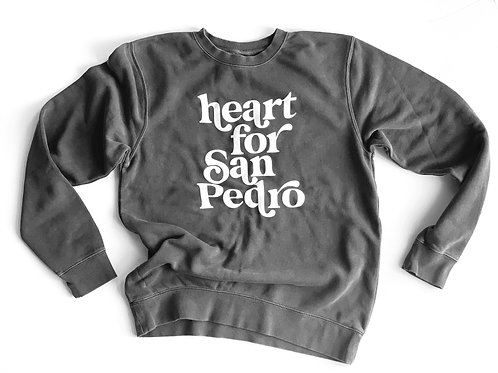 heart for San Pedro Sweater