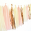 Thumbnail: Pink and Rose Gold Tassel Garland Kit