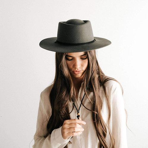 Wren Crown Hat - Green