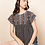 Thumbnail: Geo Print Embroidered Top