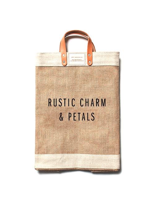 Rustic Charm & Petals Apolis Tote Bag