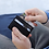 Thumbnail: Black Leather Ultra Slim Wallet