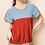 Thumbnail: Embroidered Babydoll Top