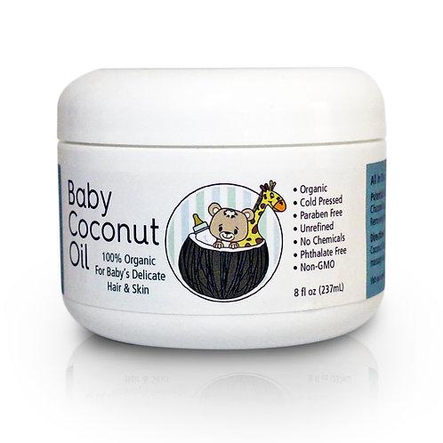 Baby Coconut Oil 8 fl. oz.