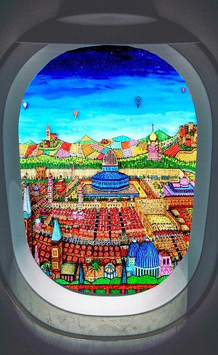 PARIS JOHAN PERATHONER 3D «HUBLOT» Dimension : 70x50