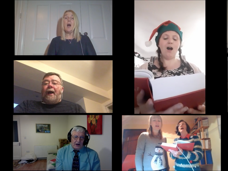 A Zoom choir is born! - Part 1