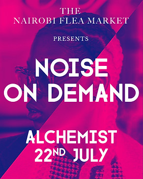 N.O.D. at The Nairobi Flea Market, Kenya