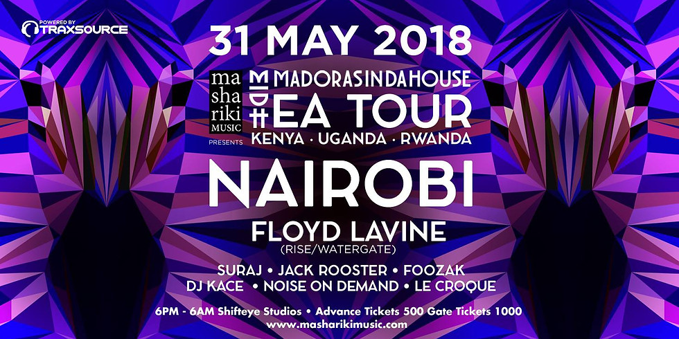 Madorasindahouse E.A. Tour with Floyd Lavine