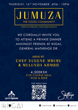 JUMUZA Invitation