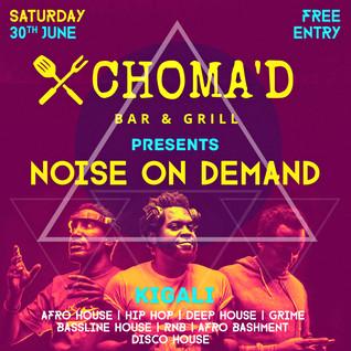 NOD Poster @ Choma'd, Kigali #003