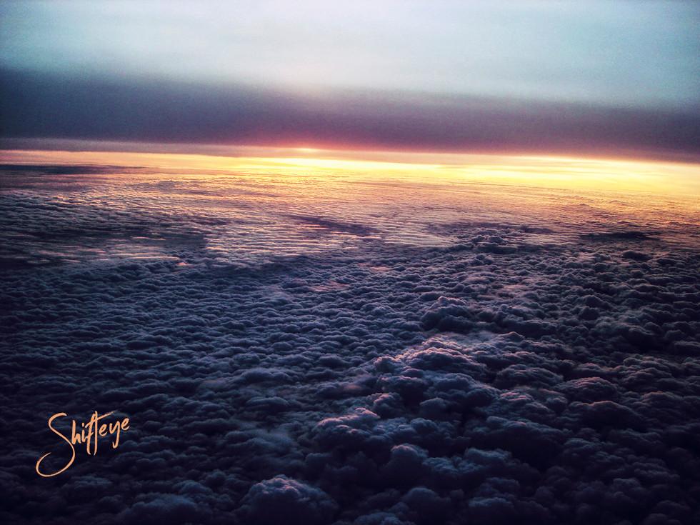 Flying over Uganda