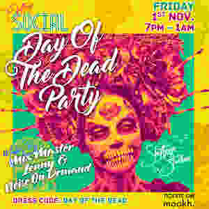 Shifteye Social Day Of The Dead Poster