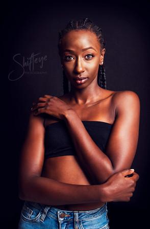Model Portfolio Shoot - Shamina Rajab
