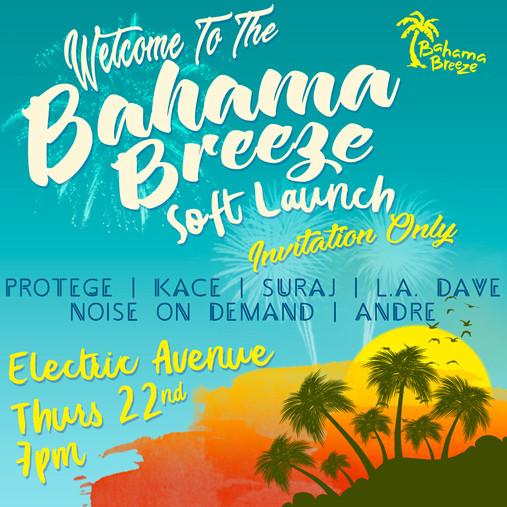 Baham Breeze Launch Poster