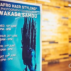 Wakasa Sambu's Exhibition Opening
