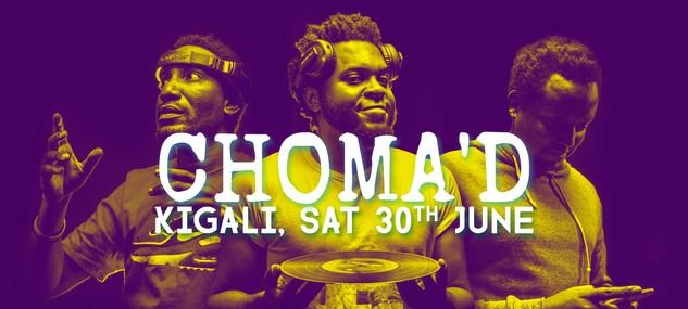 Promo for N.O.D. at Choma'd, Kigali