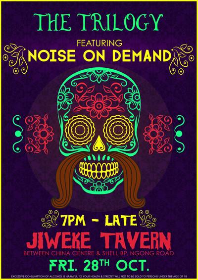 NOD @ Jiweke for Haloween Poster