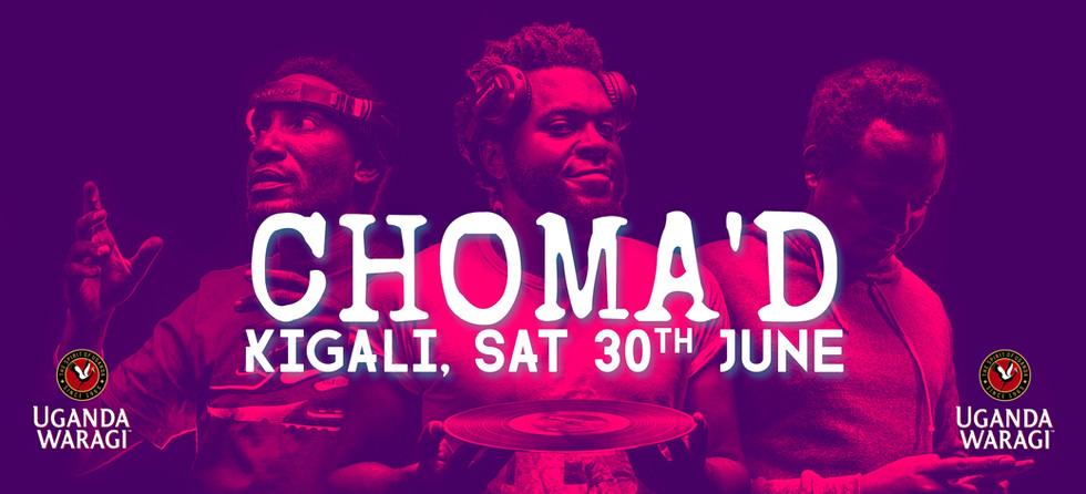 NOD Poster @ Choma'd, Kigali #002