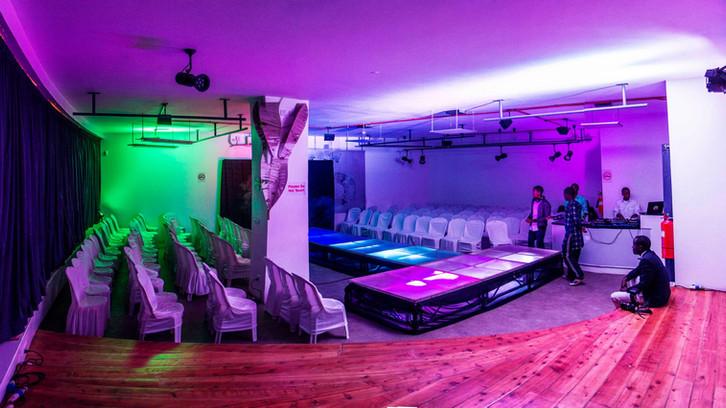 Fashion Show Set Up