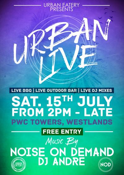 Urban Live at Urban Eatery Terrace, Kenya